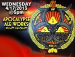 Apocalypse Ale Works Night at Blue 5 2