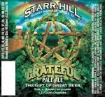 Starr Hill Grateful Pale Ale Summer Seasonal