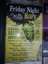 Cork & Crust Friday Night Hops
