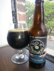 Three Brothers Virginia Dark Black IPA